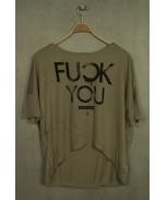 Boombap fyou tee cross women